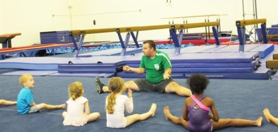 An enjoyable day learning the fundamentals of gymnastics