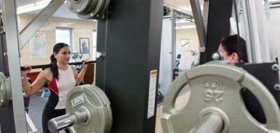 Get fit this winter and join the fitness center at Hiawatha Park.