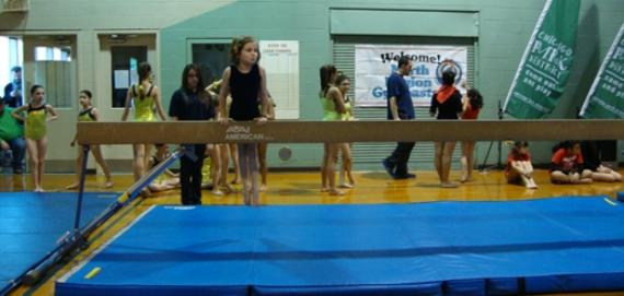 Check out the gymnastics program.