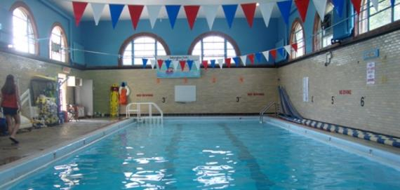 Indoor Pool at Independence Park.