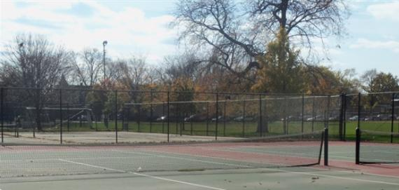 Gage Park Tennis Court