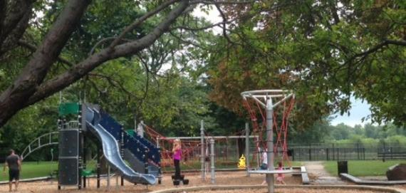 Morrie Maggies playground within Lincoln Park