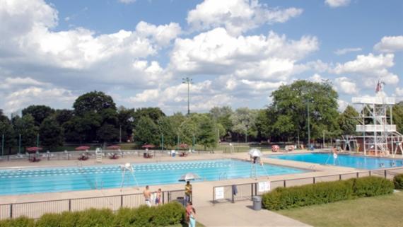 Portage Park Outdoor Pool