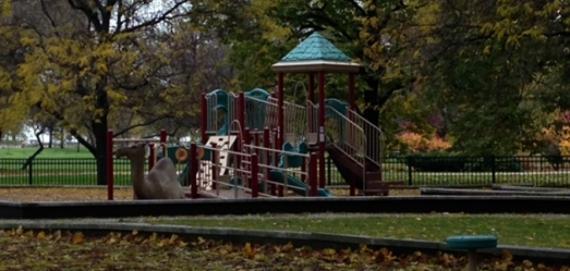 New playground at Telscer Playground