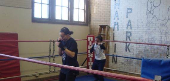 Ladies Boxing at Hamlin