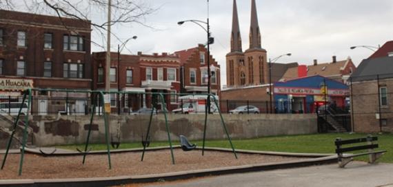 Barrett Park Swings
