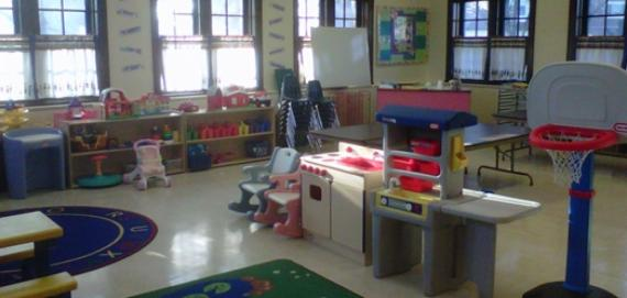 Colorful Preschool Room at Gladstone Park.