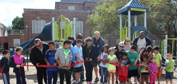 Blackhawk Park Ribbon Cutting Ceremony