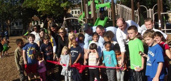 The community enjoys a great ribbon cutting ceremony