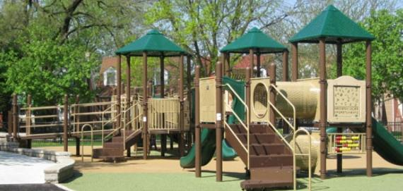 Enjoy the playground at Indian Road Park.