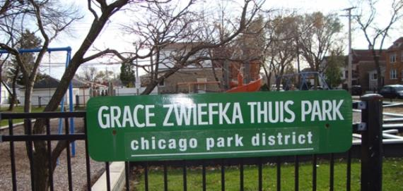 Thuis Park Playground Sign