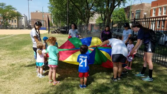 Summer Day Camp fun at Donovan!