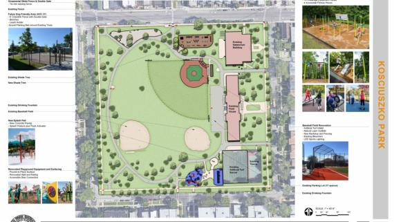 Park Improvements for 2020