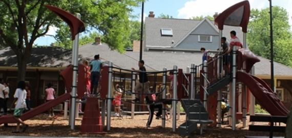 new ChicagoPlays! playground at Paschen Park.