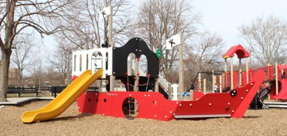 Lerner Park Chicago Plays! Playground