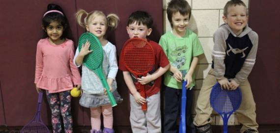 Tiny Tot Tennis!