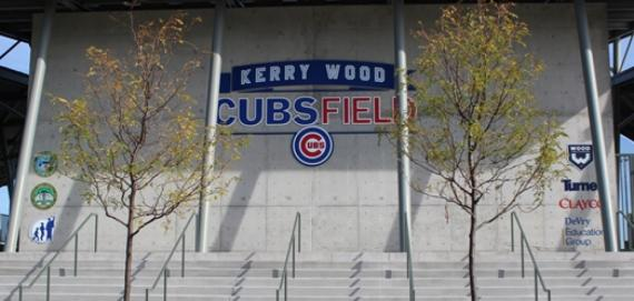 Welcome to Kerry Wood Cubs Field!