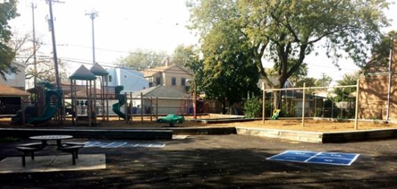 Catalpa Playground Hopscotch