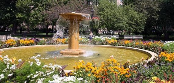 Washington Square Park Fountain