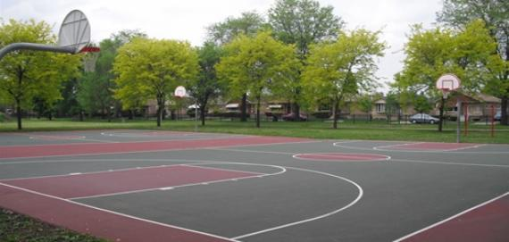 Fernwood Park Outdoor Basketball Court
