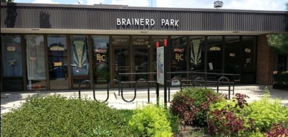 Brainerd Park Entrance