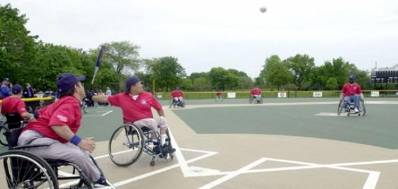 Wheelchair Softball at California Park