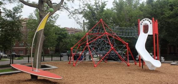 new playground at Howard Beach Park