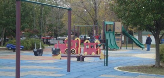 Playground at Ehrler Park