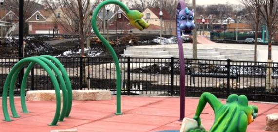 La Villita Playground Snakes