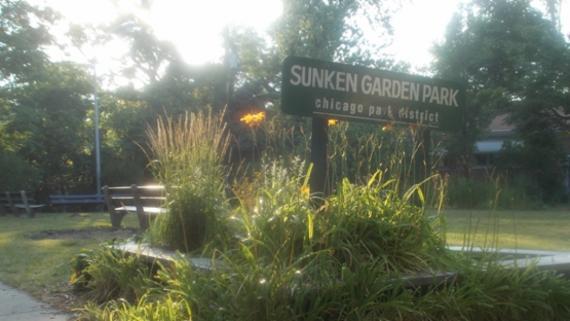 Sunken Gardens Passive Area