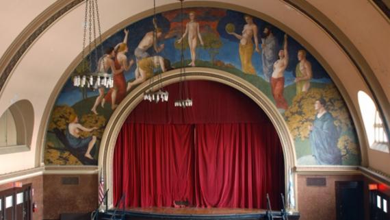 Proscenium Arch Mural