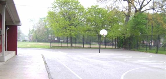 Bradley Park Basketball Court