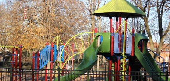 Check out our newly renovated Chicago Plays Playground