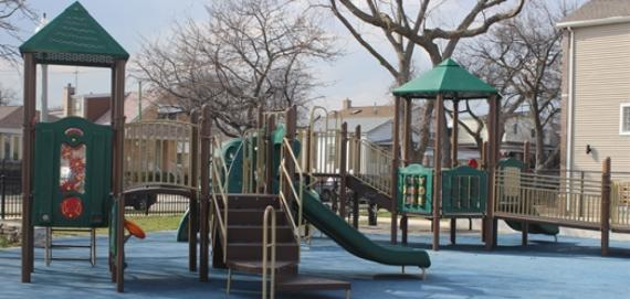 Playground at Aiello Park.