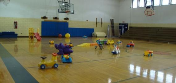 Chase Park Gym - Tot Set-up