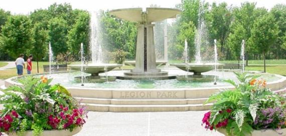 Legion Park Fountain