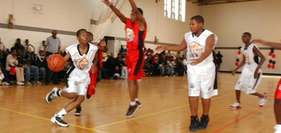 Teens: play ball for free on Friday & Saturday nights as part of the Windy City Hoops program..