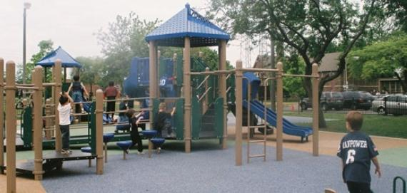 Come out and play at Revere Park playground.