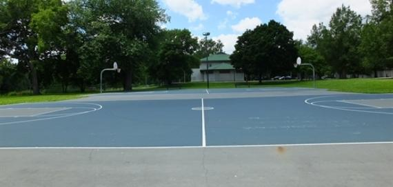Sherman Park Outdoor Basketball Court