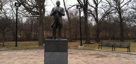 Samuel Gompers Statue