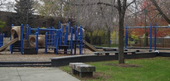 Playground at Wood Playlot Park