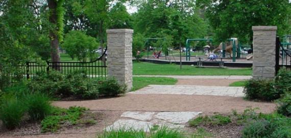 Horner Park - Entrance to Playground