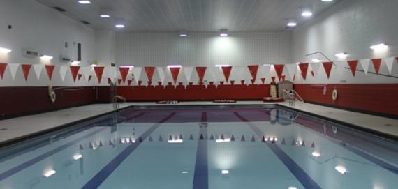 Indoor Pool at Uplift High School