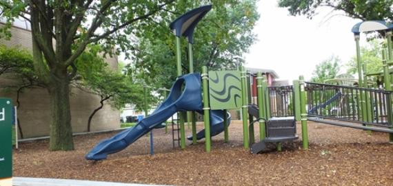 The beautiful Chicago Plays! playground