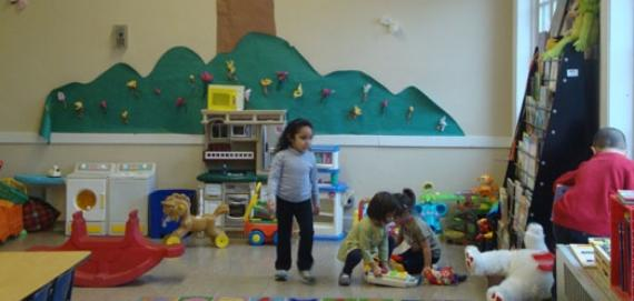 Our pre-schoolers enjoying some playtime.