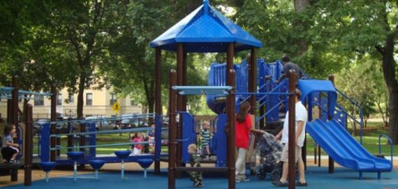 Eugene Field Park - Playground