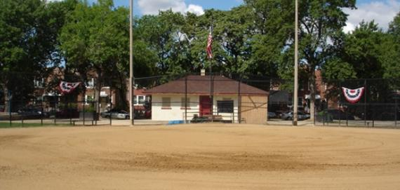 Hoyne Playground Baseball Field