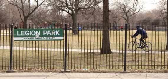 Bike Path at Legion Park