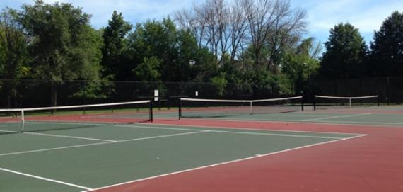 Tennis Courts at Peterson Park