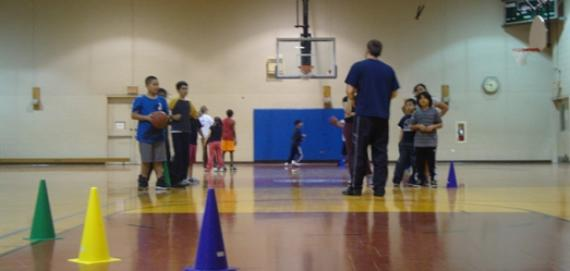 Youth Basketball at Warren Park